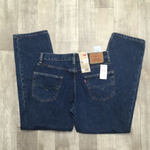 Nwt Levi 550 Strauss & Co Relaxed Fit Jeans
